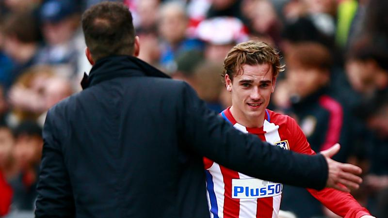 Simeone Griezmann Atletico Madrid