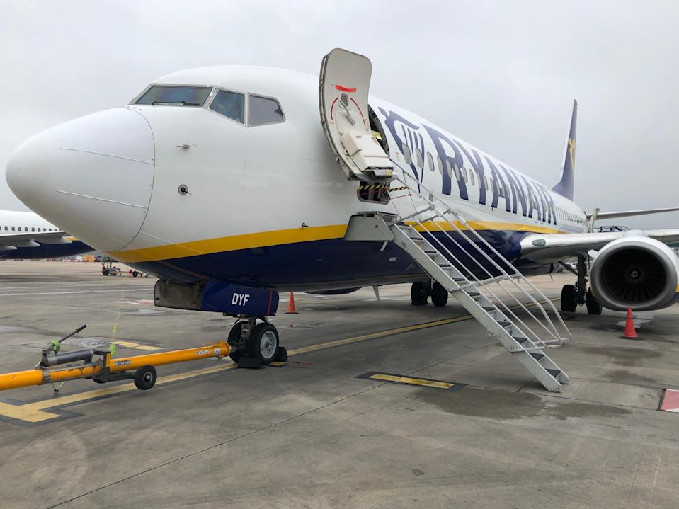 First flight: Ryanair's 7am departure from Stansted to Faro (Simon Calder)