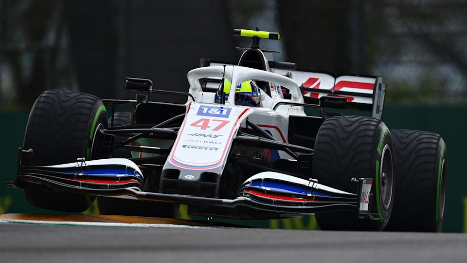 Mick Schumacher has endured a tough start to his F1 career with the Haas F1 team. (Photo by Clive Mason - Formula 1/Formula 1 via Getty Images)