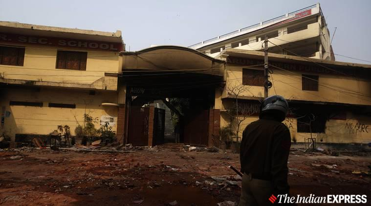 Delhi violence: Three mosques targeted, school burnt, shops & homes looted