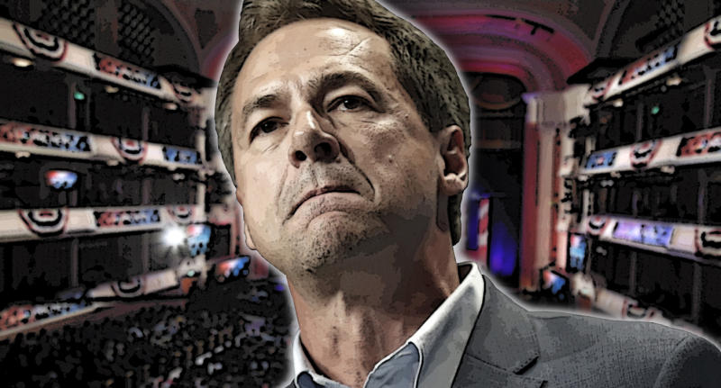 Democratic presidential candidate Steve Bullock. (Photo illustration: Yahoo News; photos: Charlie Neibergall/AP, Randall Hill/Reuters)