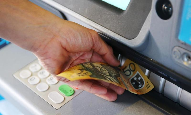 Getting cash out of the ATM