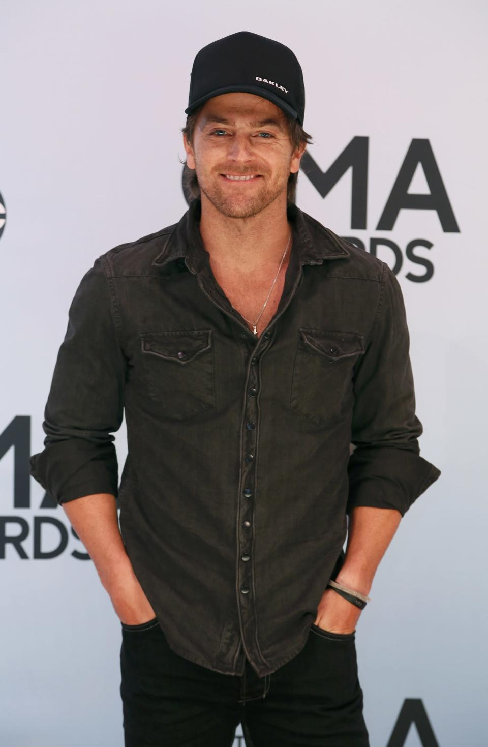 Singer Kip Moore arrives at the 47th Country Music Association Awards in Nashville, Tennessee November 6, 2013. REUTERS/Eric Henderson (UNITED STATES - Tags: ENTERTAINMENT)
