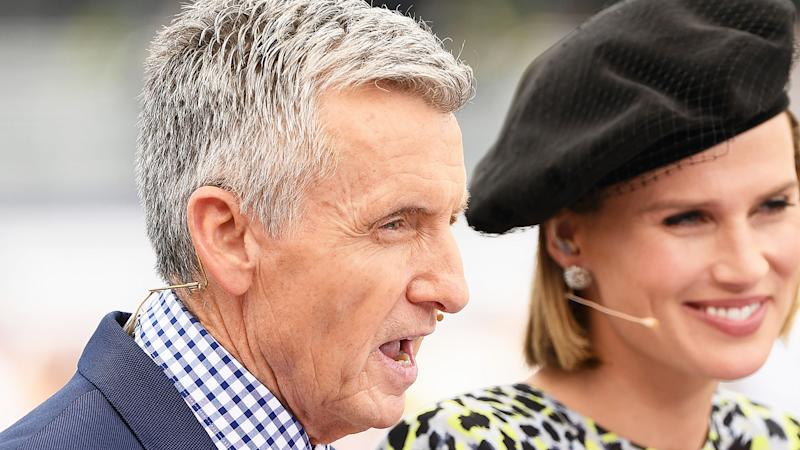 Channel 7 commentator and prominent horse racing figure Bruce McAvaney has spoken out about cruelty inflicted on retired racehorses, after an explosive report from the ABC. (Photo by Quinn Rooney/Getty Images)