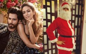 Shahid Kapoor turns Santa for his kids, but Mira Kapoor's caption steals the thunder