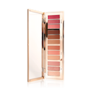 Considering the shimmering, buildable payoff of Charlotte Tilbury's eye shadows, it's no shocker that the brand's latest launch has become an instant hit. The Pillow Talk Instant Eye Palette, inspired by her best-selling lipstick shade of the same name, features 12 matte and metallic pink shadows in pink-leaning hues like champagne, rose gold, and magenta.