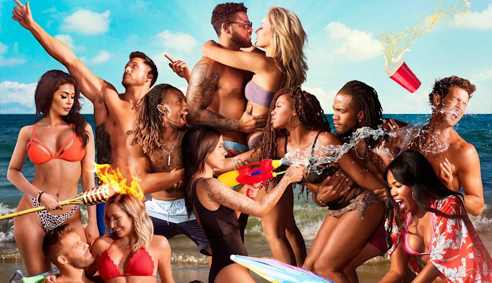 "<p>Imagine going on a dating show to look for love and then your ex shows up unannounced. That is the exact premise of MTV's drama-packed reality show <em>Ex on the Beach.</em> It's one part <em>Bachelor in Paradise,</em> two parts <em>Are You the One?</em>, and all parts addictive. </p> <p><em>Steam it on</em> <a href=""https://www.mtv.com/episodes/7z16i5/ex-on-the-beach-welcome-to-the-peak-season-4-ep-1"" rel=""nofollow noopener"" target=""_blank"" data-ylk=""slk:MTV's website"" class=""link rapid-noclick-resp""><em>MTV's website</em></a><em>.</em></p>"