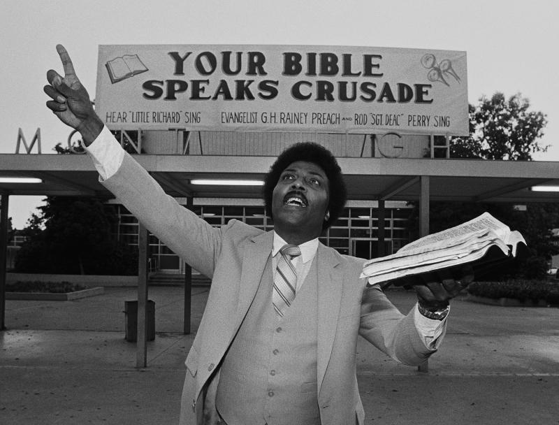 Little Richard Preaches The Gospel (George Rose / Getty Images)