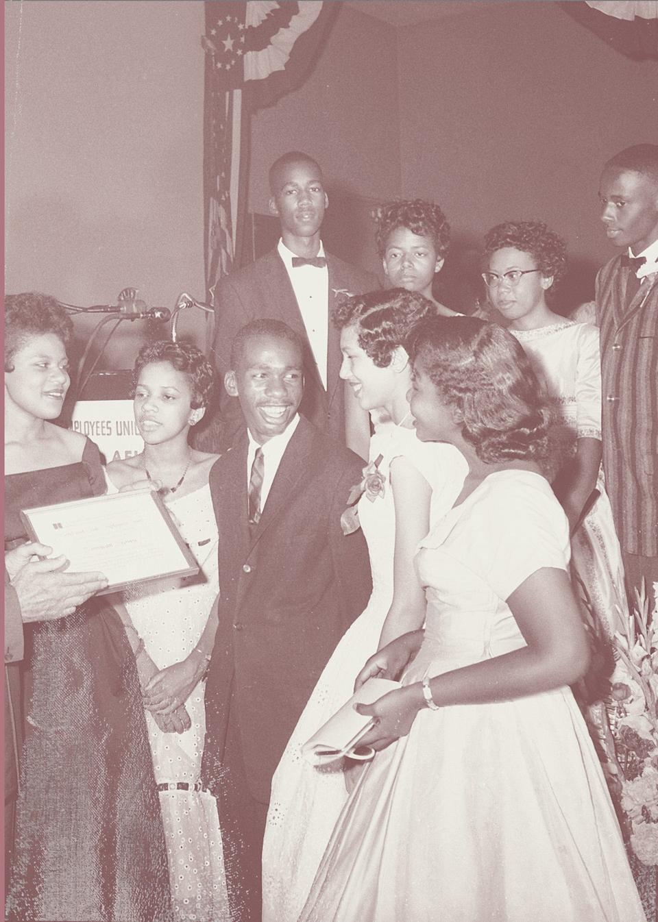 The women of the Little Rock 9