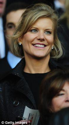 In the mix: Amanda Staveley