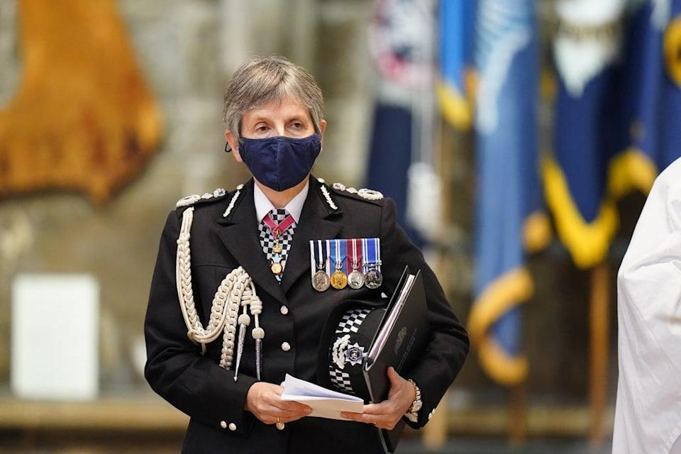 Metropolitan Police Commissioner Cressida Dick during the National Police Memorial Day Service at Lincoln Cathedral (Danny Lawson/PA) (PA Wire)