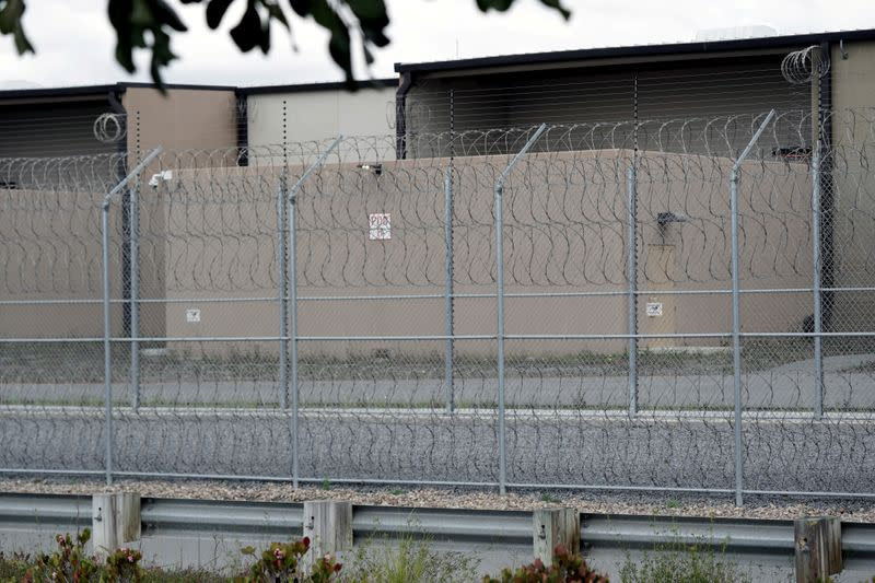 FILE PHOTO: Pueblo Sin Fronteras drive-by protest ICE at Otay Mesa Detention Center