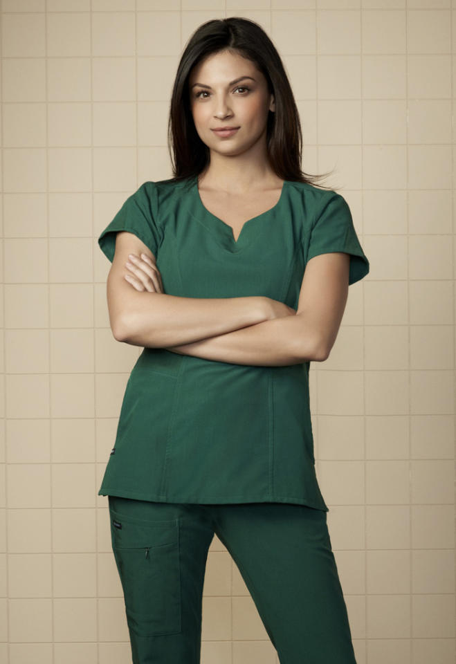 "Floriana Lima stars as Nurse Rosa ""Ro"" Quintero in ""The Mob Doctor"" on Fox."