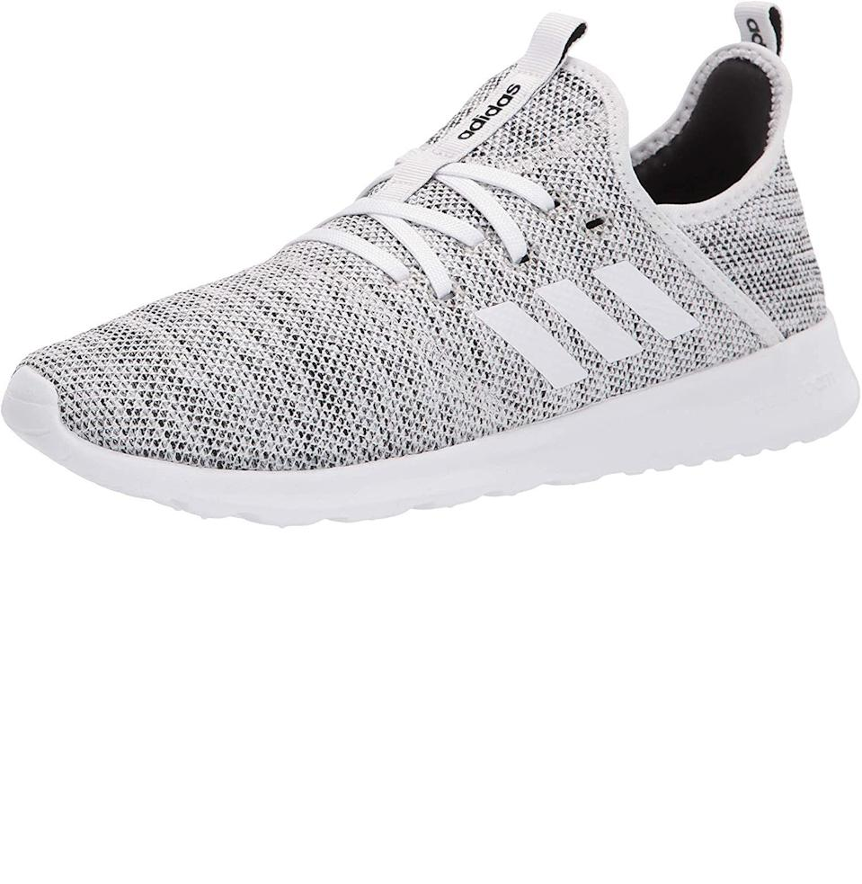 """<p><strong>Adidas</strong></p><p>amazon.com</p><p><strong>$49.97</strong></p><p><a href=""""https://www.amazon.com/dp/B0711R2TNB?tag=syn-yahoo-20&ascsubtag=%5Bartid%7C10054.g.26887058%5Bsrc%7Cyahoo-us"""" rel=""""nofollow noopener"""" target=""""_blank"""" data-ylk=""""slk:Buy"""" class=""""link rapid-noclick-resp"""">Buy</a></p><p>Then again, if mom's even sportier than all that, grab her a pair of slip-on Adidas, which are made to be breezy and supportive. Just what mom needs.</p>"""