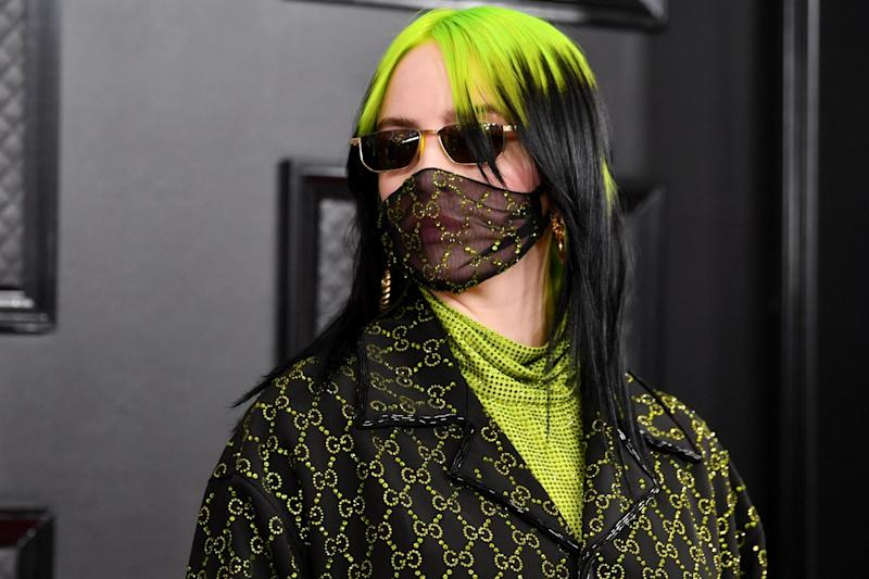 Billie Eilish attends the 62nd Annual Grammy Awards at Staples Center on 26 January 2020 in Los Angeles, California: Amy Sussman/Getty Images