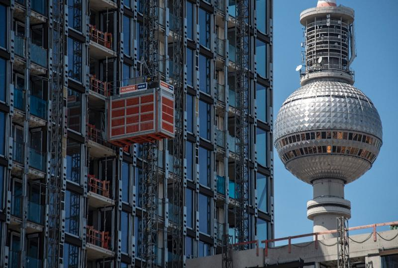 Berlin is not the only major capital tackling a rent crisis (AFP Photo/John MACDOUGALL)