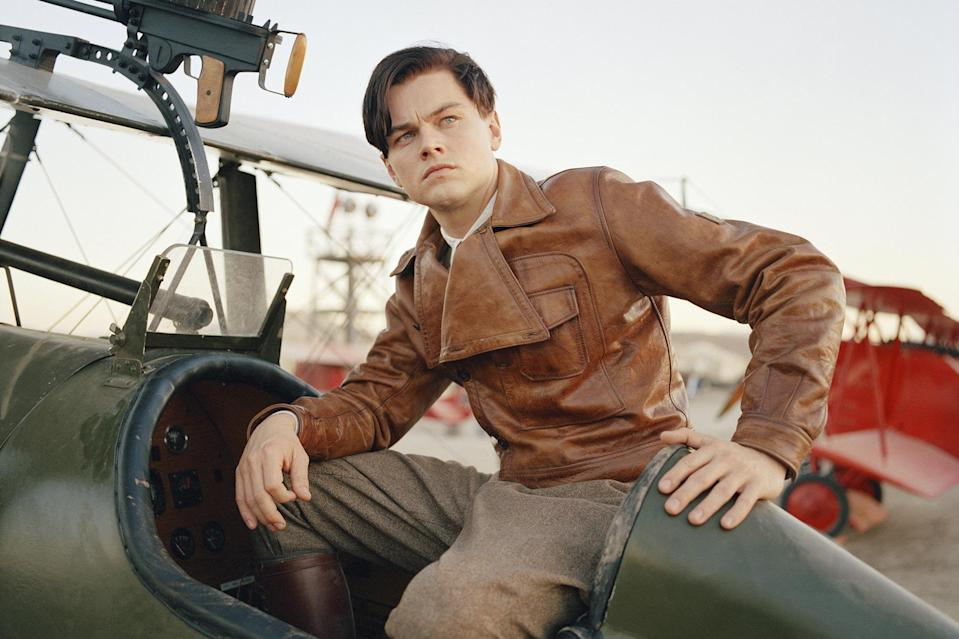 """<p>I'm not sure if you've noticed yet but this Martin Scorsese might know a thing or two about getting incredible performances from incredible actors. In most years DiCaprio's turn as the eccentric Howard Hughes would be an Oscar-winning lock, but he ran into the buzzsaw that was <a href=""""https://ew.com/tag/jamie-foxx/"""" rel=""""nofollow noopener"""" target=""""_blank"""" data-ylk=""""slk:Jamie Foxx"""" class=""""link rapid-noclick-resp"""">Jamie Foxx</a>'s show-stopping portrayal of <a href=""""https://ew.com/tag/ray-charles/"""" rel=""""nofollow noopener"""" target=""""_blank"""" data-ylk=""""slk:Ray Charles"""" class=""""link rapid-noclick-resp"""">Ray Charles</a>. Leo manages to subtly play Hughes' growing paranoia and fear before his obsessive-compulsive nature fully takes over. Also, rewatching this in 2020 and being reminded that the film begins with Hughes' mother teaching him how to spell """"quarantine"""" is almost <a href=""""https://ew.com/creative-work/contagion/"""" rel=""""nofollow noopener"""" target=""""_blank"""" data-ylk=""""slk:Contagion"""" class=""""link rapid-noclick-resp""""><i>Contagion</i></a>-level eerie. </p> <p><b>Related: </b><a href=""""https://ew.com/article/2004/12/17/how-aviator-got-ground/"""" rel=""""nofollow noopener"""" target=""""_blank"""" data-ylk=""""slk:How The Aviator got off the ground"""" class=""""link rapid-noclick-resp"""">How <i>The Aviator</i> got off the ground</a></p>"""