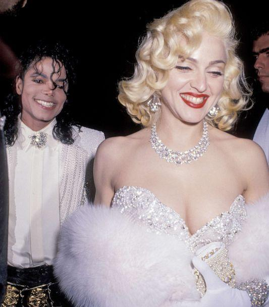 PHOTO: Michael Jackson and Madonna arrive for an Academy Awards after-party at Spago's in Los Angeles, March 25, 1991. (Ron Galella Collection via Getty Images, FILE)