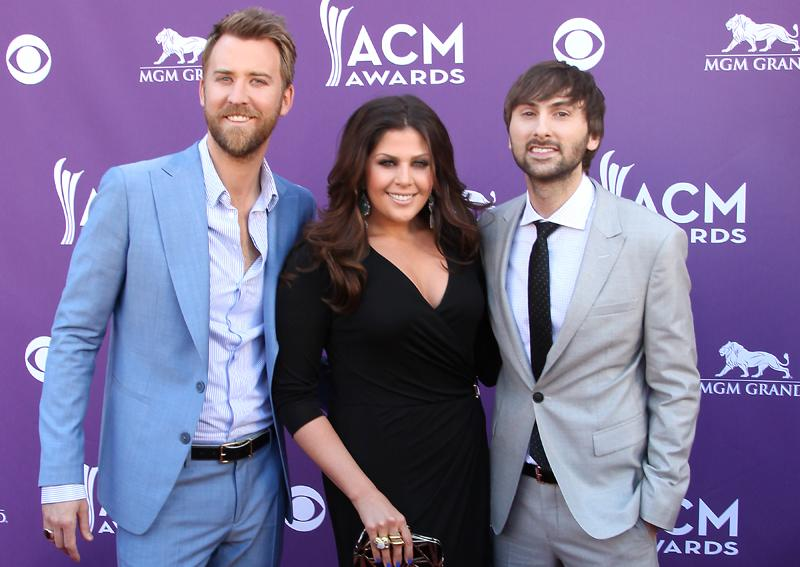 LADY ANTEBELLUM, Live from the RAM Red Carpet, 47th Annual ACM Awards, Las Vegas, NV