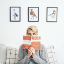 <p>This is a surprising number two. Instead of binge watching Netflix series, people are hoping to dig out the books for a year-long reading session. <i>[Photo: Instagram/emmagannonuk]</i> </p>