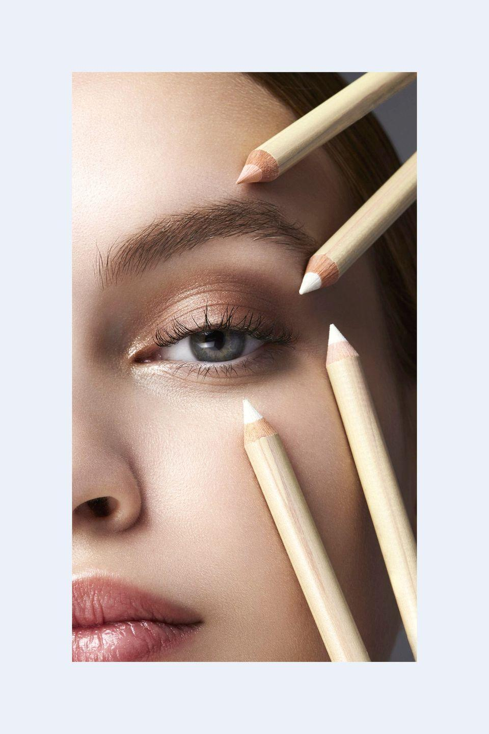 """<p> """"There are many brightening eyeliners out there, but I always <strong>suggest and prefer creamier warm tones over stark white.</strong> It's more flattering.""""—<em>Jillian Dempsey, celebrity makeup artist and founder of Jillian Dempsey </em></p>"""