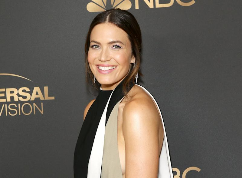 WEST HOLLYWOOD, CALIFORNIA - AUGUST 13: Mandy Moore attends the NBC and Universal EMMY nominee celebration held at Tesse Restaurant on August 13, 2019 in West Hollywood, California. (Photo by Michael Tran/FilmMagic)