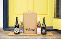"""<p>Winc</p><p><strong>$60.00</strong></p><p><a href=""""https://go.redirectingat.com?id=74968X1596630&url=https%3A%2F%2Fwww.winc.com%2Fgifts%2Fgift-cards&sref=https%3A%2F%2Fwww.womansday.com%2Frelationships%2Fdating-marriage%2Fg36408636%2Fbridal-shower-gift-ideas%2F"""" rel=""""nofollow noopener"""" target=""""_blank"""" data-ylk=""""slk:Shop Now"""" class=""""link rapid-noclick-resp"""">Shop Now</a></p><p>A Winc subscription is a treat for couples interested in exploring new wine varieties. After taking a palate quiz, they'll be sent unique bottles each month to match their individual taste buds.</p>"""