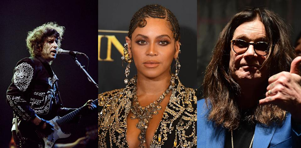 Whether you're a Bob Dylan, Beyoncé or Black Sabbath fan could depend on whether you think their personality is like your own.