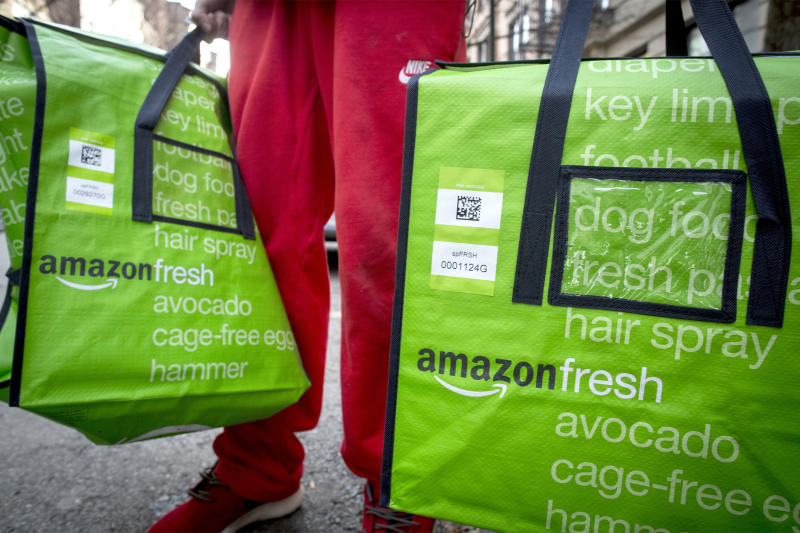 Amazon Files Meal-Kit Trademark, Blue Apron Stock Falls