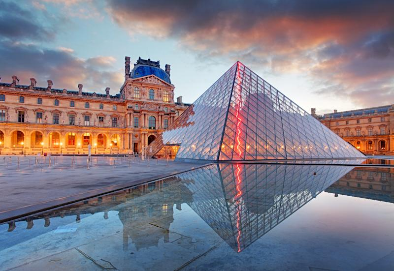 Pei's design for the entrance of the Louvre Museum in Paris is perhaps going to be his most lasting structure.