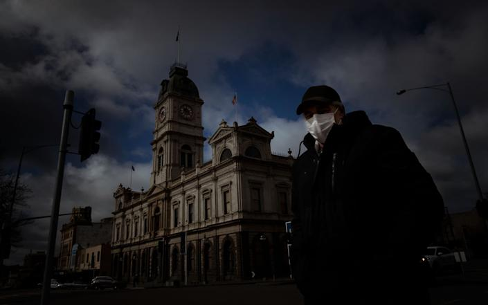 Ballarat in the state of Victoria. Cases have stabilised in the area after an outbreak - GETTY IMAGES