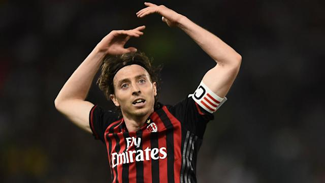 The Italy international is likely to return to the Rossoneri's squad on Sunday, having not played for the club since last October