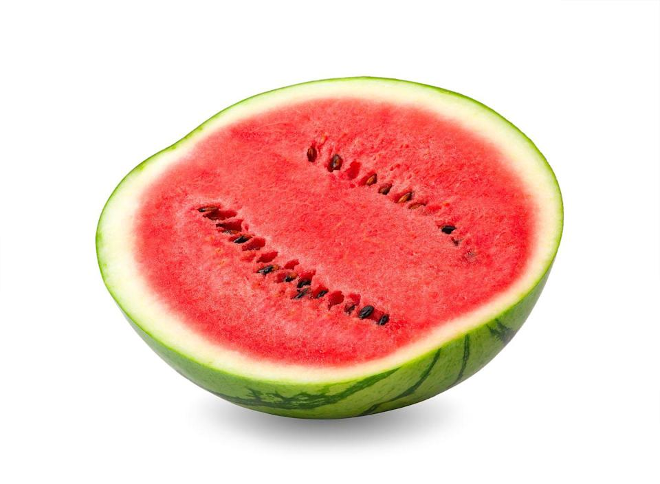 <p>You probably know that watermelon is excellent for hydration, which helps your overall health, but did you know it's full of lycopene? Lycopene can help you prevent infections by lowering inflammation in your respiratory system. Cut off a slice and breathe easier!</p>