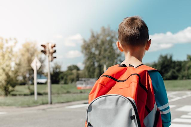 Would you buy a bulletproof backpack for your child? (Photo: Getty Images)