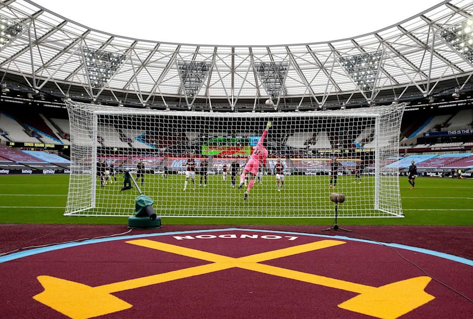 <p>West Ham United vs Manchester United will host fans on 5 December</p> (PA)