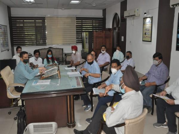 Jalandhar Deputy Commissioner Ghanshyam Thori held a review meeting on Tuesday.