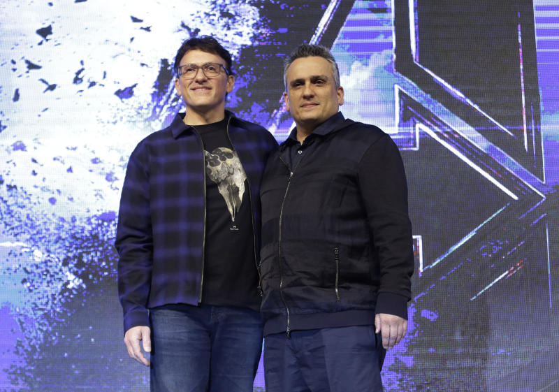 Avengers: Endgame directors the Russo Brothers beg fans not