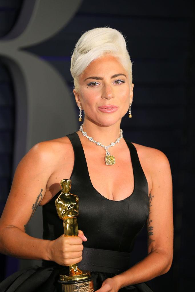 Lady Gaga just frosted herself with a Tiffany diamond necklace worth $30 million [Photo: Getty]