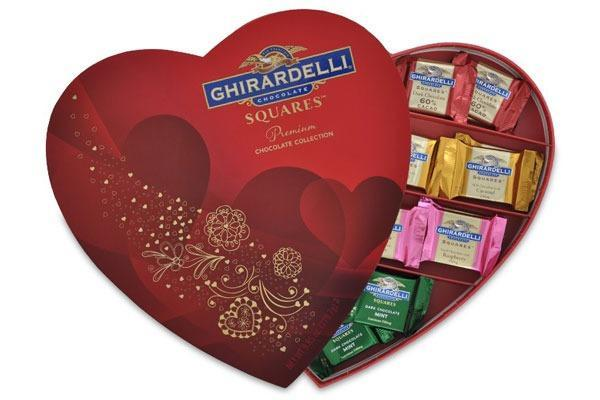 Valentines Candy Ranked Ghirardelli Squares