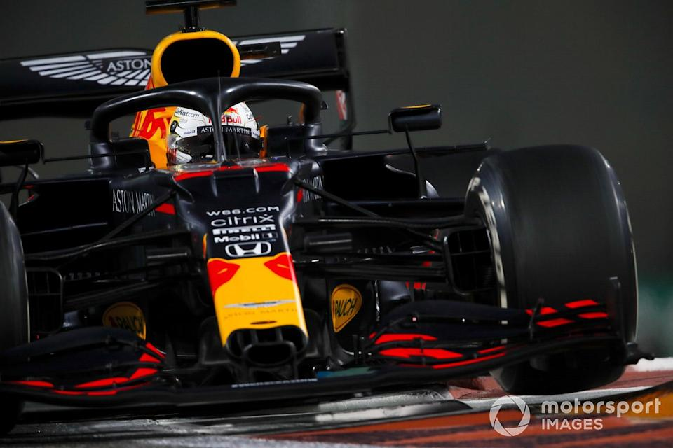 "Max Verstappen, Red Bull Racing RB16<span class=""copyright"">Zak Mauger / Motorsport Images</span>"