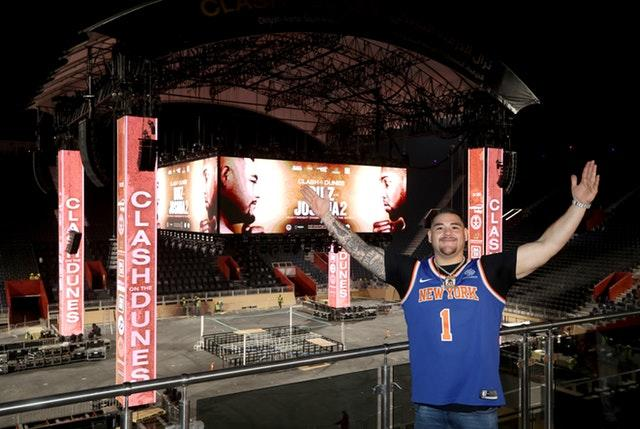 Andy Ruiz Jr wanted to remind himself of his New York win over Joshua (Nick Potts/PA)