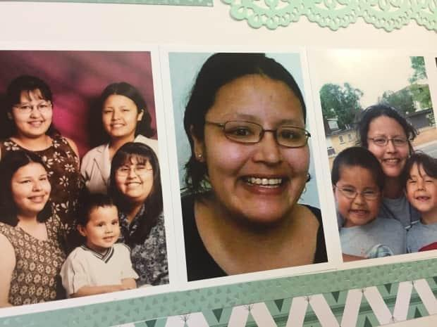 Family members of Barbara Kentner, centre, including her sisters and daughter are expected to be at the Thunder Bay, Ont., court on Monday for sentencing of Bushby.