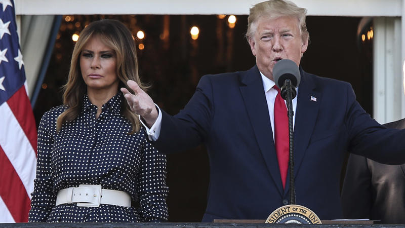 An explosive new book claims the President and First Lady are leading seperate lives. Photo: Getty Images