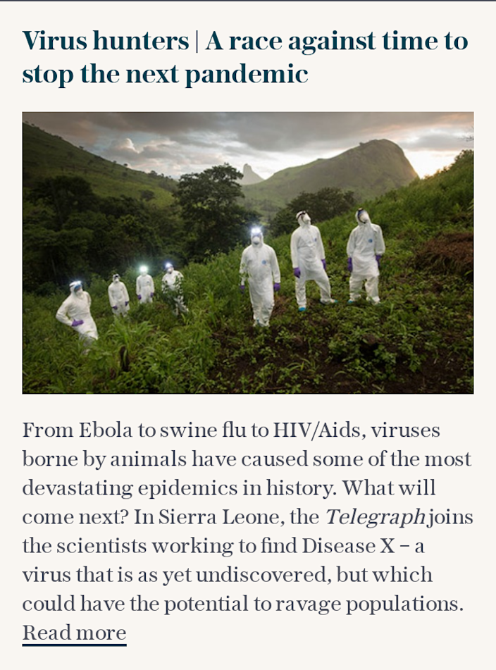 Virus hunters | A race against time to stop the next pandemic