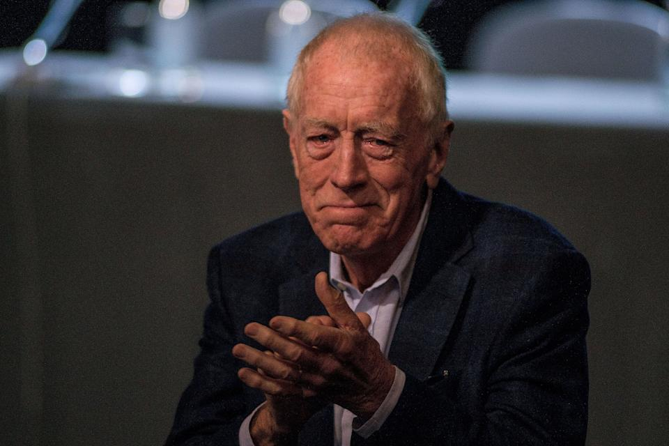 <strong>Max Von Sydow (1929 - 2020)<br /><br /></strong>The actor – known for roles in Star Wars: The Force Awakens, Game Of Thrones, The Exorcist and Extremely Loud & Incredibly Close – died at his home in France, at the age of 90.<strong><br /></strong>