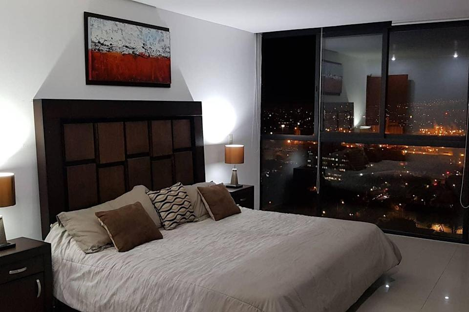 "<h2><a href=""https://www.airbnb.com/s/Guadalajara--Mexico/all"" rel=""nofollow noopener"" target=""_blank"" data-ylk=""slk:Guadalajara, Mexico"" class=""link rapid-noclick-resp"">Guadalajara, Mexico<br></a></h2>158% YoY increase in booking <br><br><strong><a href=""https://airbnb.pvxt.net/77MKr"" rel=""nofollow noopener"" target=""_blank"" data-ylk=""slk:Luxury Apartment With Cinema In Chapultepec"" class=""link rapid-noclick-resp"">Luxury Apartment With Cinema In Chapultepec</a></strong><br>""Apartment with incredible city view, located on floor 17. The apartment is the largest in the building. You will love my place because of the views, location, and atmosphere. My accommodation is good for couples, business travellers, families, and large groups.""<strong><a href=""https://airbnb.pvxt.net/77MKr"" rel=""nofollow noopener"" target=""_blank"" data-ylk=""slk:"" class=""link rapid-noclick-resp""><br></a></strong><br><span class=""copyright"">Photo: Courtesy of Airbnb.</span>"