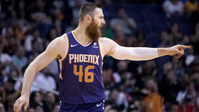 Jaylen Brown Excited To See Ex-Teammate Aron Baynes When Celtics Face Suns