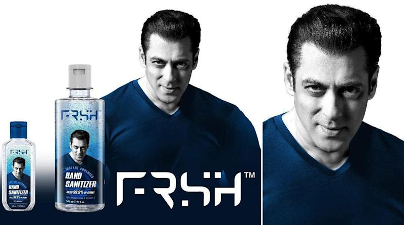 Salman Khan's Personal Care Product Brand 'FRSH' Gets Trolled For The Missing 'E' (See Tweets)