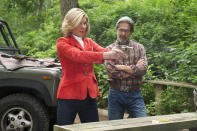 <p>Christine Baranski's Diane didn't need a man in her life to be a great character, but we're sure glad she found Kurt McVeigh, Gary Cole's ballistics expert. Their flirtatious cross-aisle verbal sparring grew into a still passionate relationship befitting a man who's willing to sacrifice his most valuable commodity — his word — for the love of his life, and a woman who means it when she vows to make him happy every day of his life if he'll forgive her. If we were told only one romance could survive the finale — Diane's or Alicia's — we'd pick this one. <i>(Credit: David M. Russell/CBS) </i><b><br></b></p>