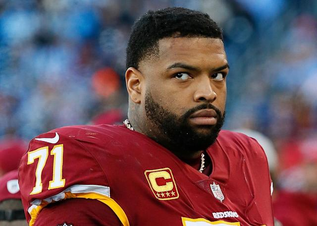 There doesn't appear to a reasonable resolution to the dispute between Trent Williams and the Washington Redskins. (Getty Images)